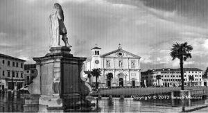 Palmanova, Piazza Grande, foto di Teresa Mancini