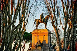 Garibaldi Gianicolo foto di Teresa Mancini