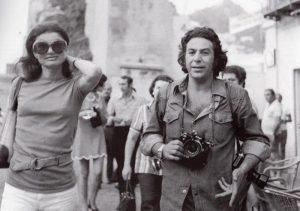 Jacqueline Kennedy e il fotografo Settimio Garritano
