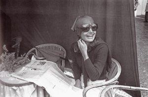 Jacqueline  Kennedy fotografo Settimio Garritano In Piazzetta